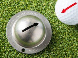 golf ball arrow stencil