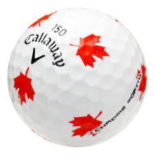 golf ball maple leaf stencil